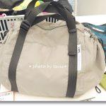 【フェリシモ】子供を自転車にのせているときのその荷物。どこにのせますか?リュックになるレジかごバッグが便利だと思ったハナシ!