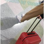 【クラッシュバゲージ】イタリア発!デコボコのへこみがおしゃれ♪デザインが斬新なスーツケース!